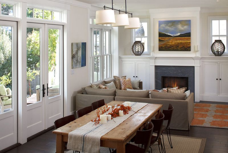 Simple living room ideas for small spaces